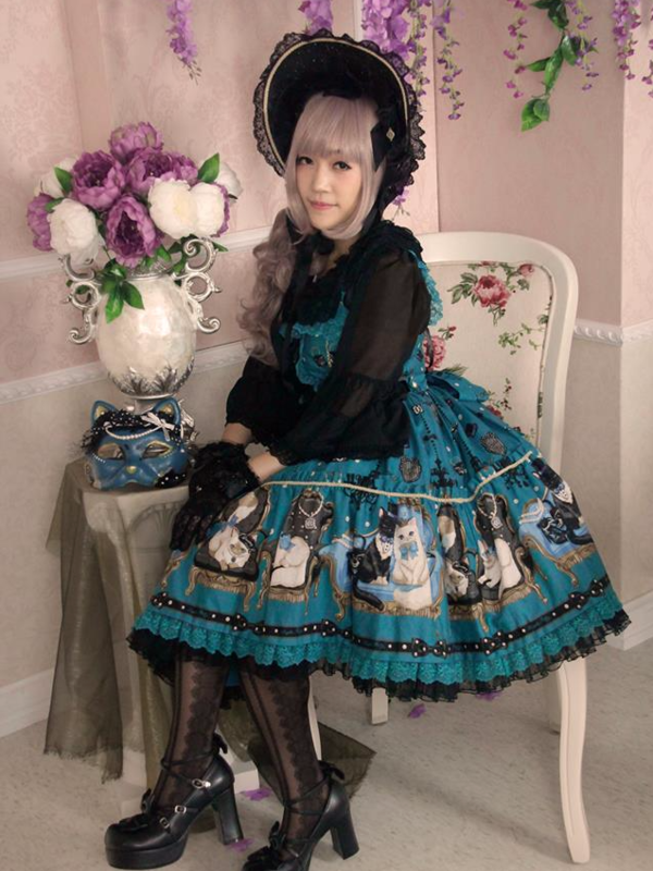 是Aricy Mist 艾莉鵝以「Angelic pretty」为主题投稿的照片(2017/11/01)
