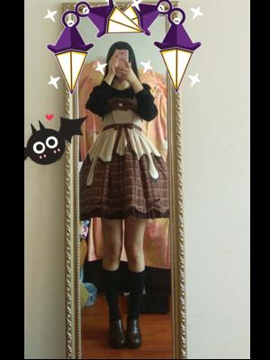織田あさつゆの「Lolita」をテーマにしたコーディネート(2017/11/06)