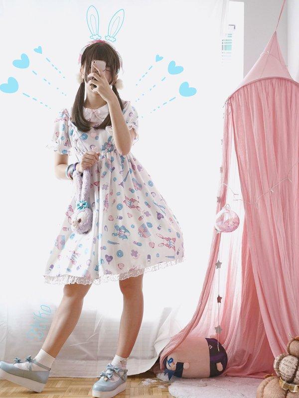 TeikoKIKUの「Angelic pretty」をテーマにしたコーディネート(2017/11/10)