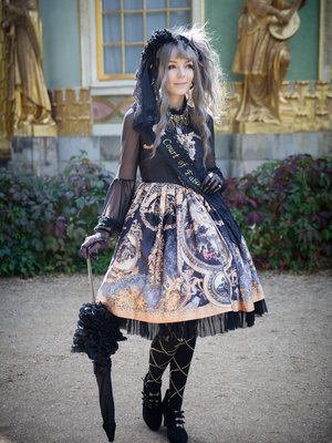 Kia Rose's 「Gothic Lolita」themed photo (2017/11/15)