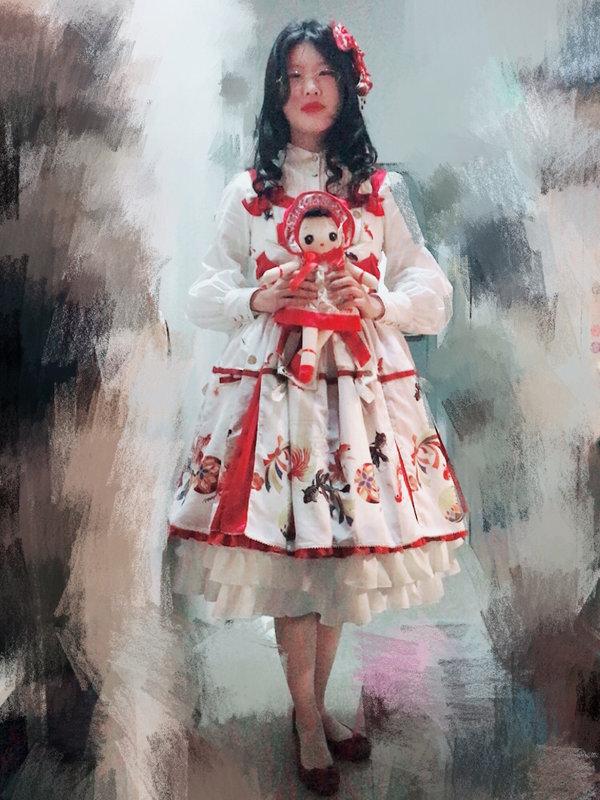 赫薇德尔の「Lolita fashion」をテーマにしたコーディネート(2017/11/15)