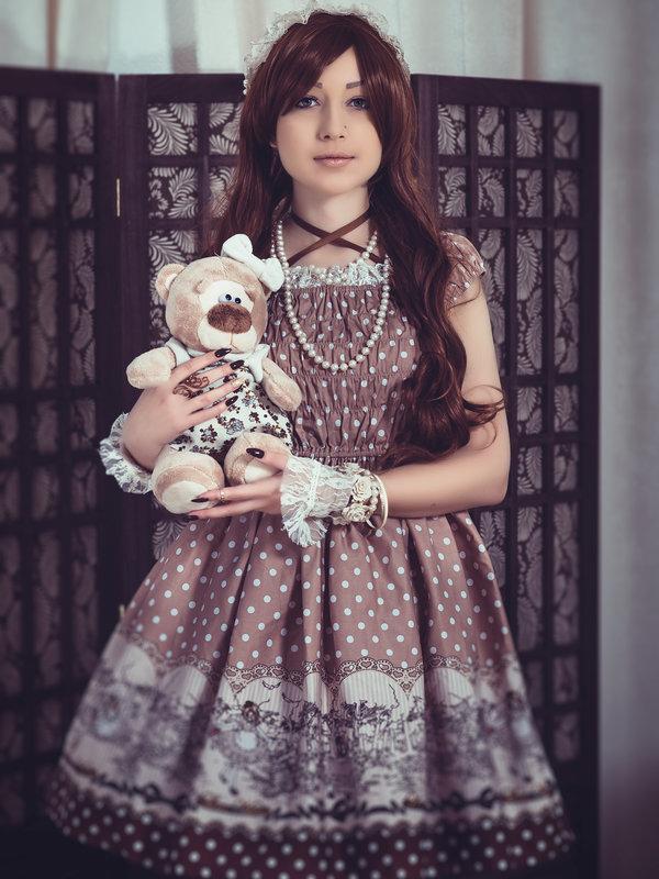 Esma Meowの「Lolita」をテーマにしたコーディネート(2017/11/21)