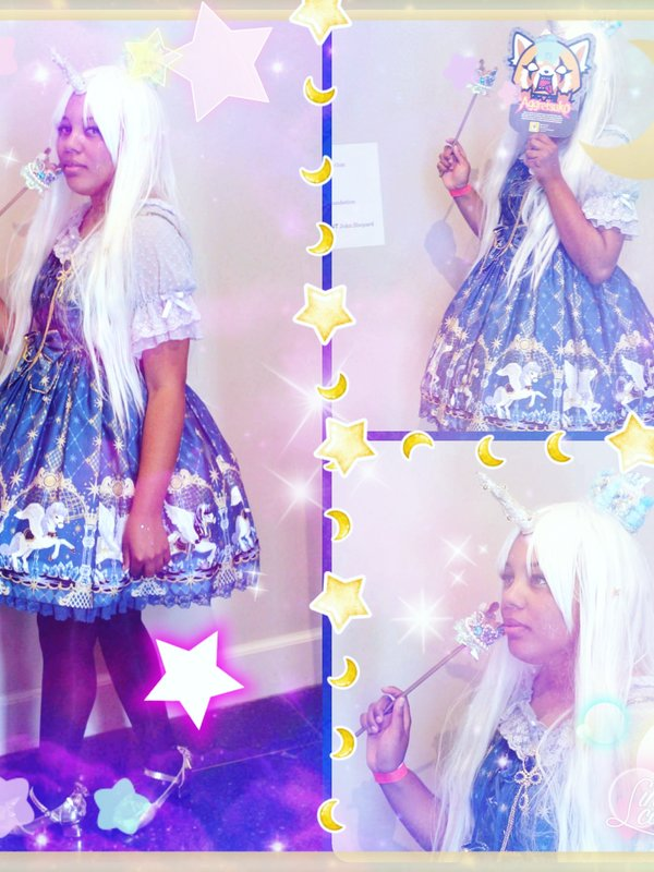 Star's 「Angelic pretty」themed photo (2017/11/22)