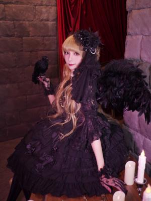 置鮎楓の「Angelic pretty」をテーマにしたコーディネート(2017/11/24)