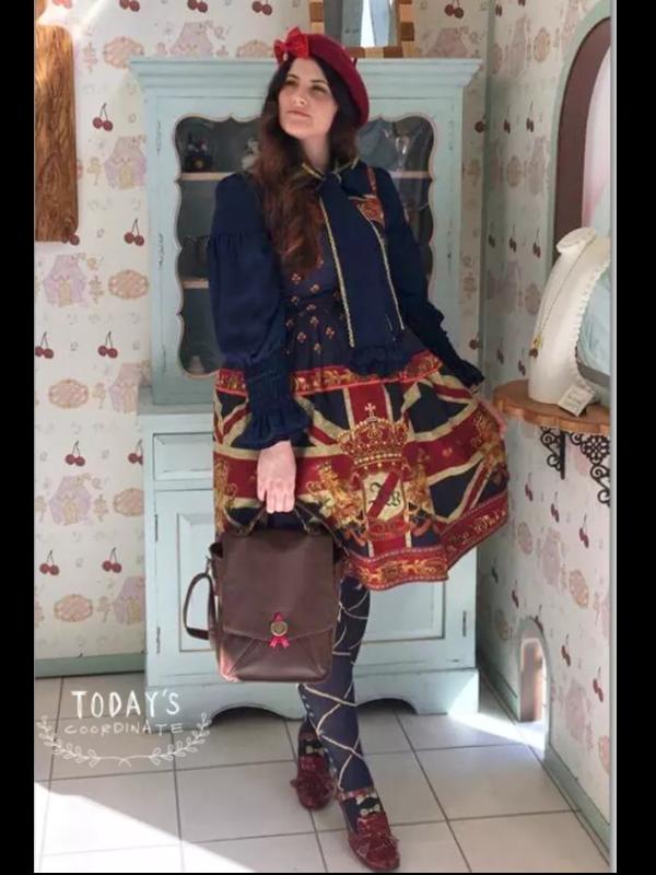 Redlillium's 「Lolita fashion」themed photo (2017/11/25)