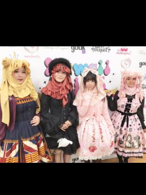 モヨコの「Angelic pretty」をテーマにしたコーディネート(2017/11/27)