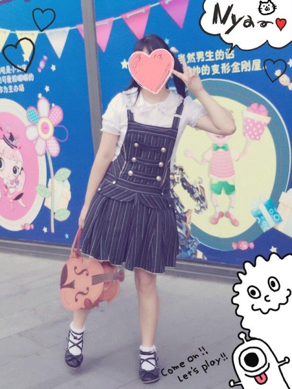shiina_mafuyu's 「背带」themed photo (2016/09/03)