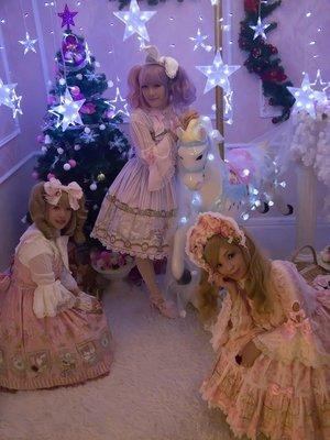 Aricy Mist 艾莉鵝の「Angelic pretty」をテーマにしたコーディネート(2017/11/29)
