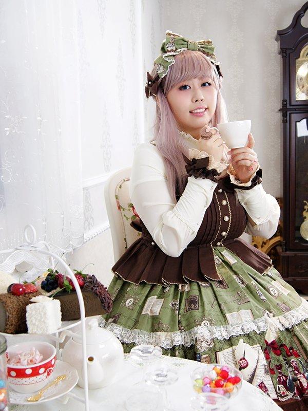 若銀の「Lolita fashion」をテーマにしたコーディネート(2017/12/03)