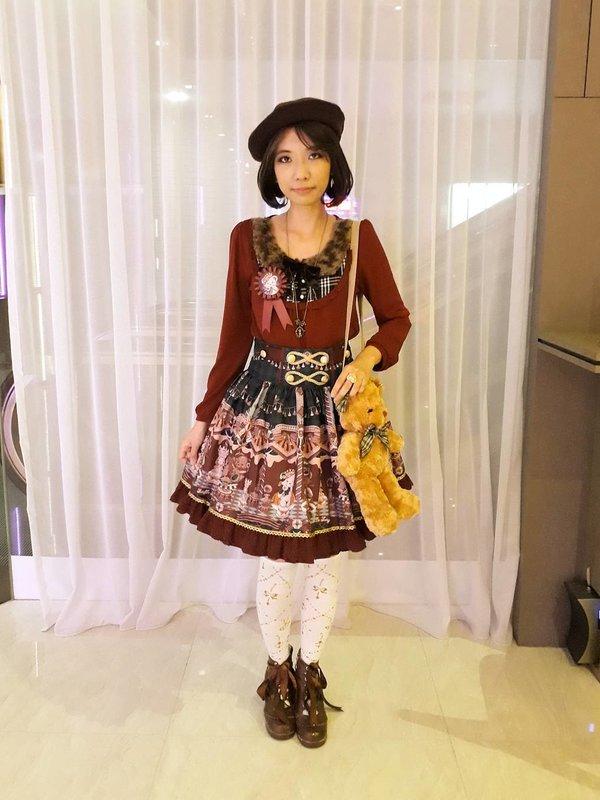 Xiao Yu's 「Lolita」themed photo (2017/12/04)