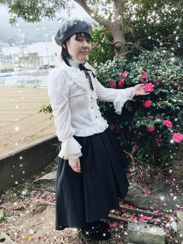 彰の「Black and white」をテーマにしたコーディネート(2017/12/04)