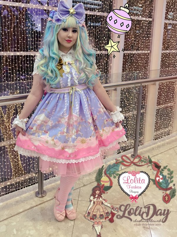Gwendy Guppyの「international lolita day」をテーマにしたコーディネート(2017/12/04)