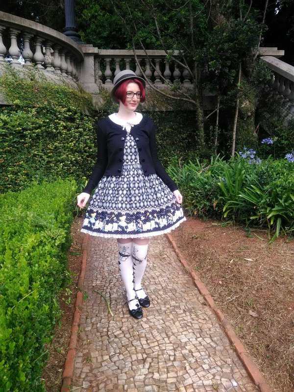 Annah Helの「Lolita fashion」をテーマにしたコーディネート(2017/12/05)