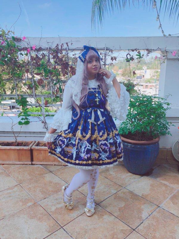 Kari's 「Lolita fashion」themed photo (2017/12/05)