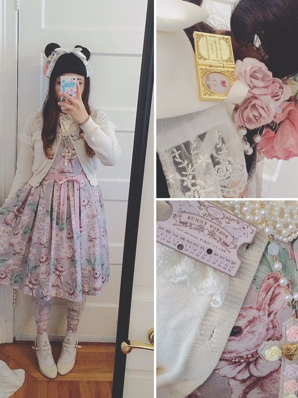 Junie Green's 「Angelic pretty」themed photo (2016/09/06)