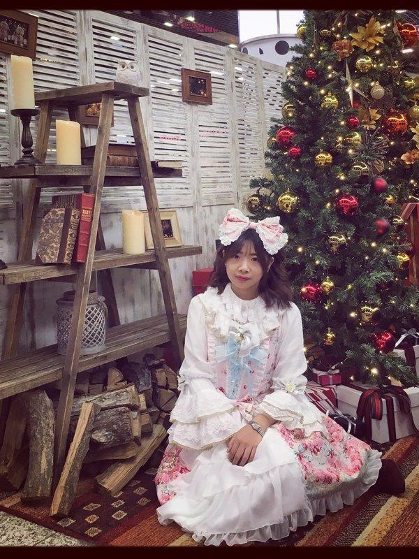 ゆめの「Sweet lolita」をテーマにしたコーディネート(2017/12/07)