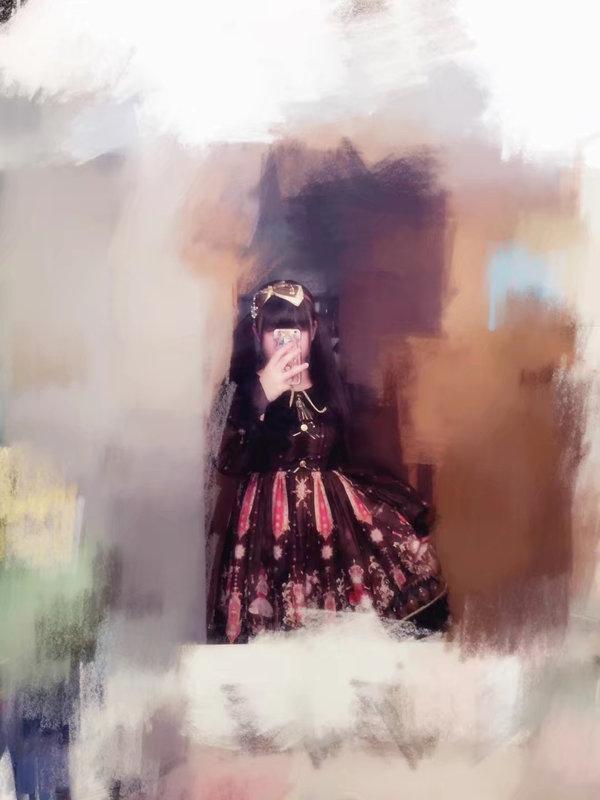 昏栖栖_の「Sweet lolita」をテーマにしたコーディネート(2017/12/07)