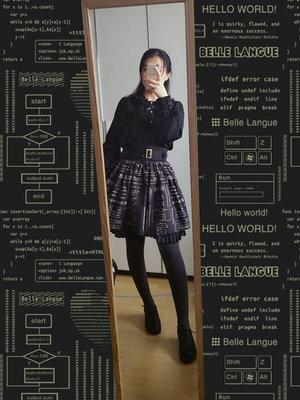 缪斯赤贫の「sk」をテーマにしたコーディネート(2017/12/09)