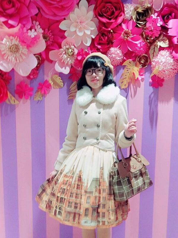 KAEちゃんの「Lolita」をテーマにしたコーディネート(2017/12/11)