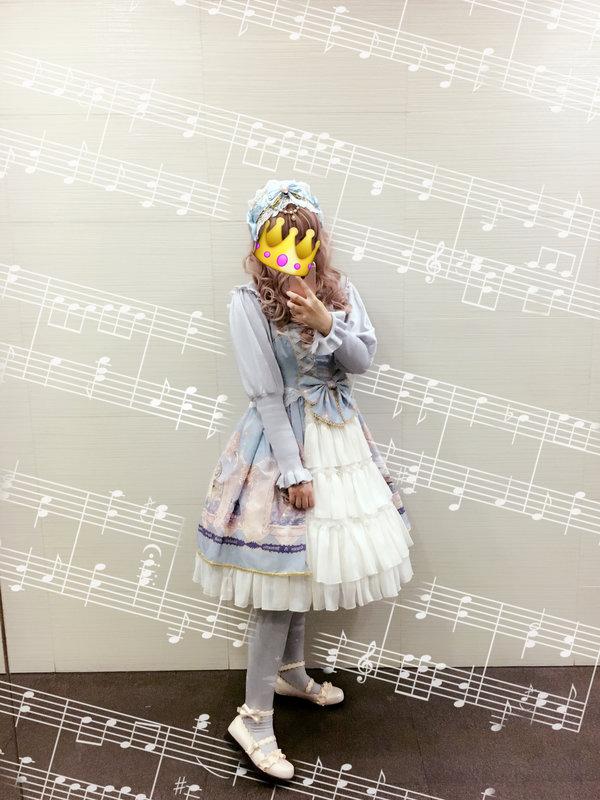 S的自娱自乐's 「Sweet lolita」themed photo (2017/12/11)