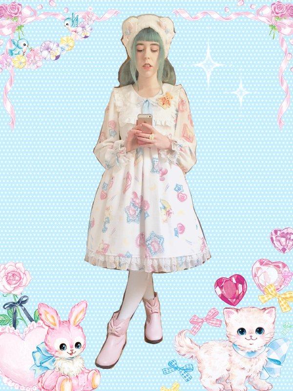 Zazi's 「Angelic pretty」themed photo (2017/12/12)