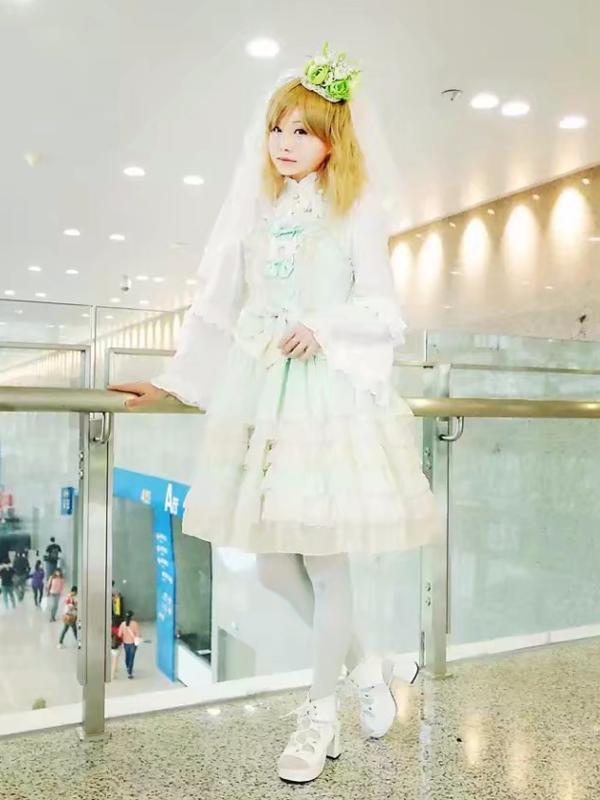 Yushiteki's 「Sweet lolita」themed photo (2017/12/13)