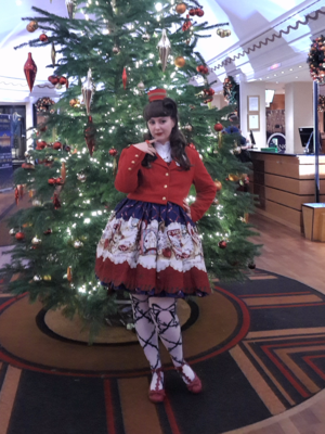 Cupcake Kamisama's 「christmas-coordinate-contest-2017」themed photo (2017/12/13)