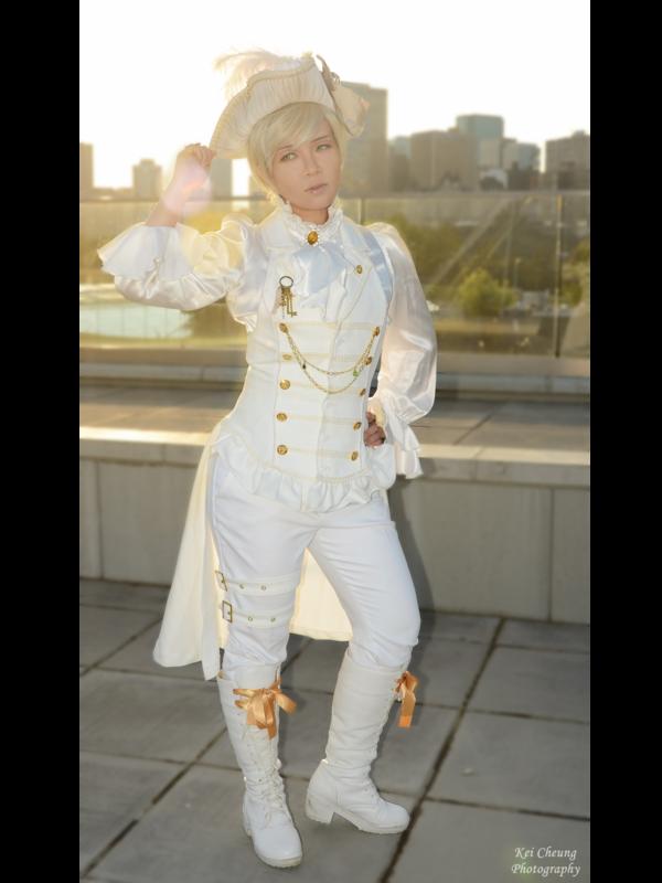 Azuma's 「Lolita fashion」themed photo (2017/12/14)