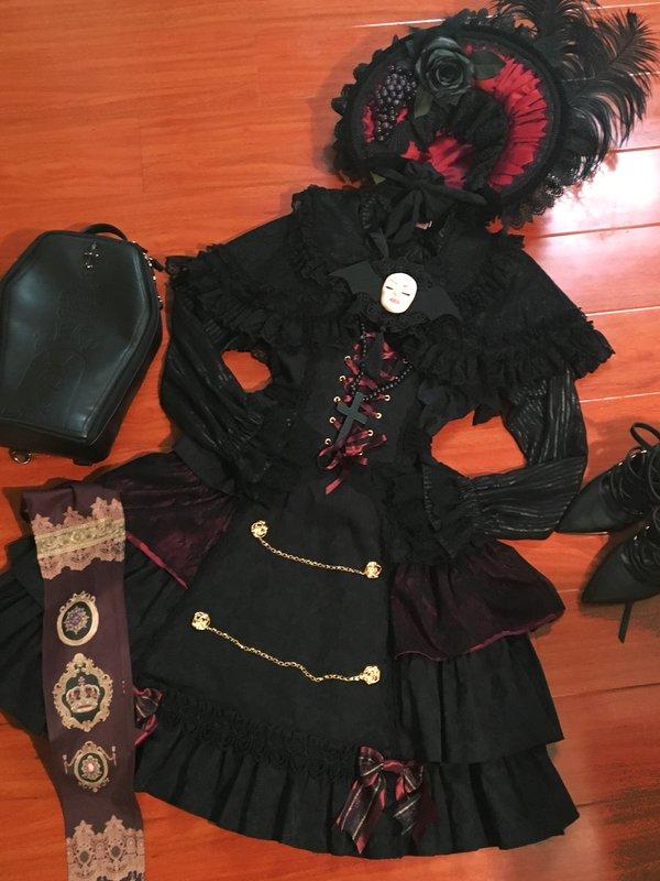 Skullita's 「ゴシックロリータ」themed photo (2016/09/14)