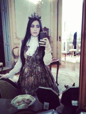 Sara Riveroseの「Lolita」をテーマにしたコーディネート(2017/12/16)