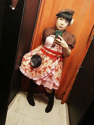 Taiyou Hikariの「ゆめかわいい」をテーマにしたコーディネート(2017/12/17)