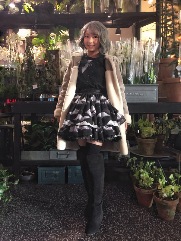 lionnekoの「ゆめかわいい」をテーマにしたコーディネート(2017/12/18)