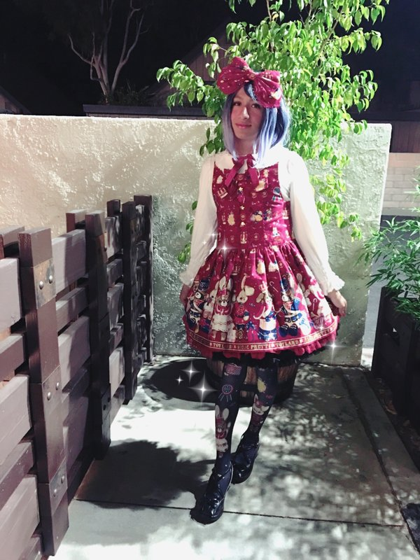 Silenthalfotakuの「Lolita fashion」をテーマにしたコーディネート(2017/12/18)