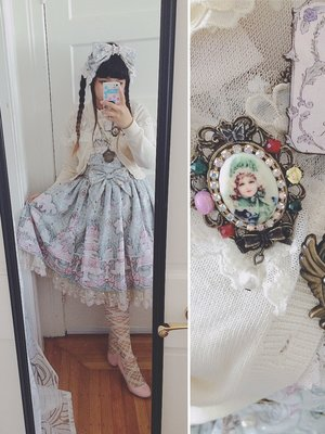 Junie Green's 「Angelic pretty」themed photo (2016/09/19)