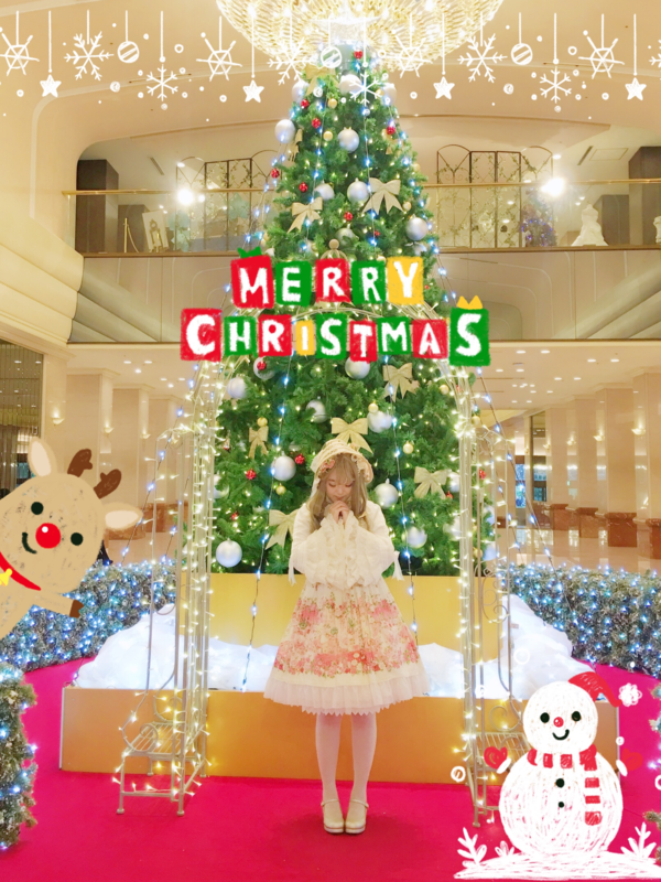 舞's 「christmas-coordinate-contest-2017」themed photo (2017/12/19)