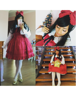 Andreza Gonçalves's 「Lolita fashion」themed photo (2017/12/19)