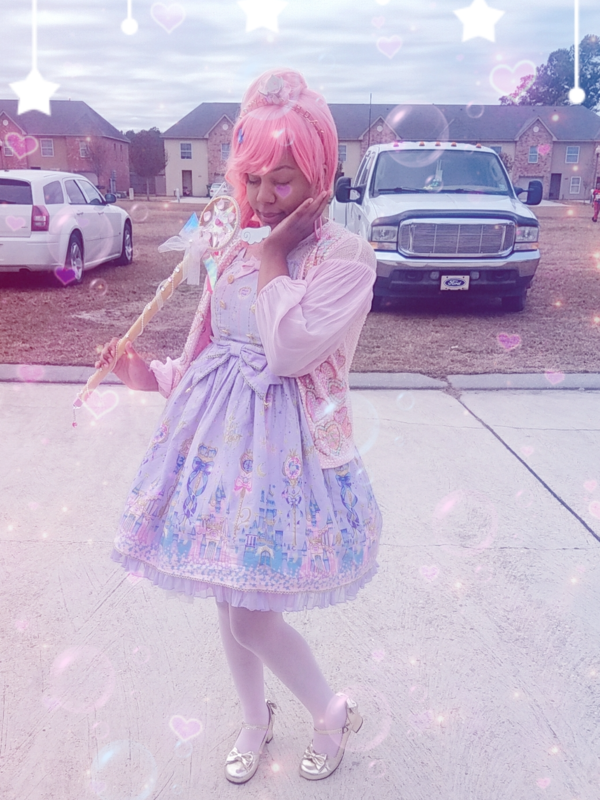 Star's 「Angelic pretty」themed photo (2017/12/19)