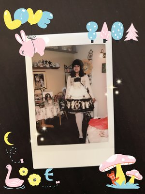 parumey's 「Angelic pretty」themed photo (2017/12/21)