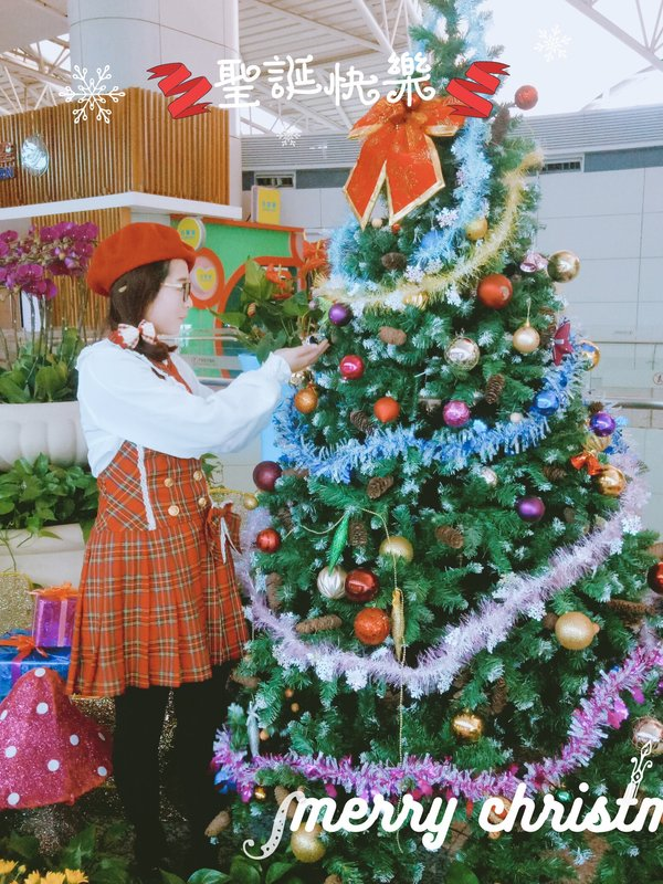 是璐璐以「christmas-coordinate-contest-2017」为主题投稿的照片(2017/12/23)