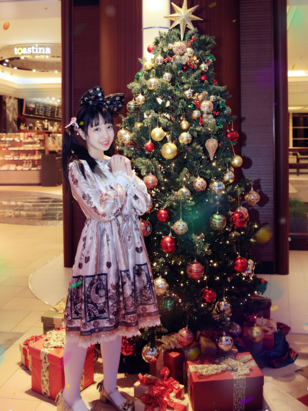 鱼味儿灵灵子の「Angelic pretty」をテーマにしたコーディネート(2017/12/26)