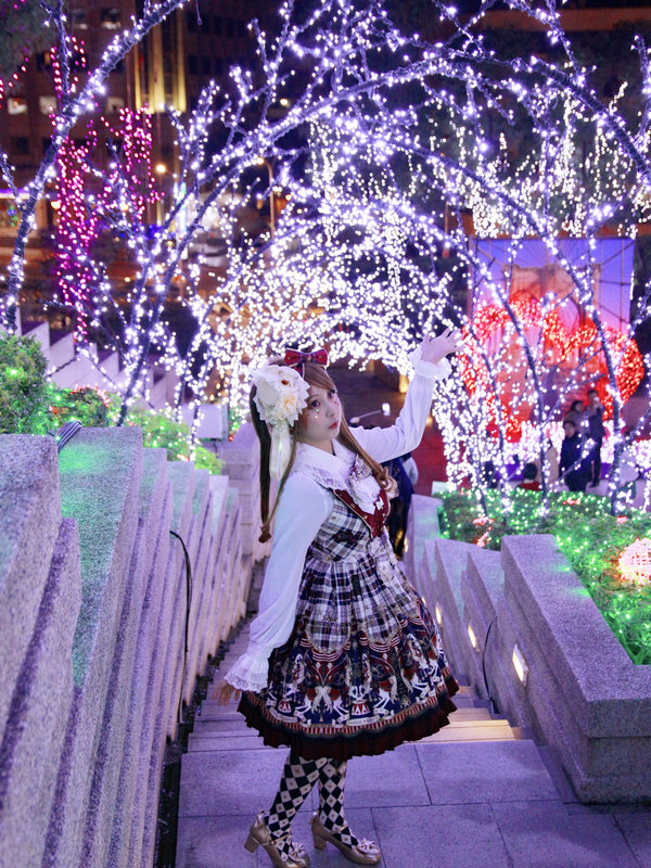 兔小璐の「Angelic pretty」をテーマにしたコーディネート(2017/12/26)