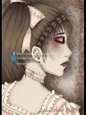 Angelica Colorado's 「Lolita」themed photo (2017/12/26)