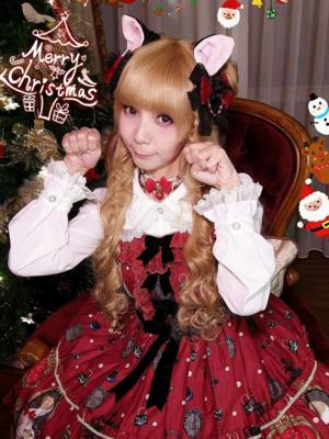 置鮎楓の「Angelic pretty」をテーマにしたコーディネート(2017/12/27)