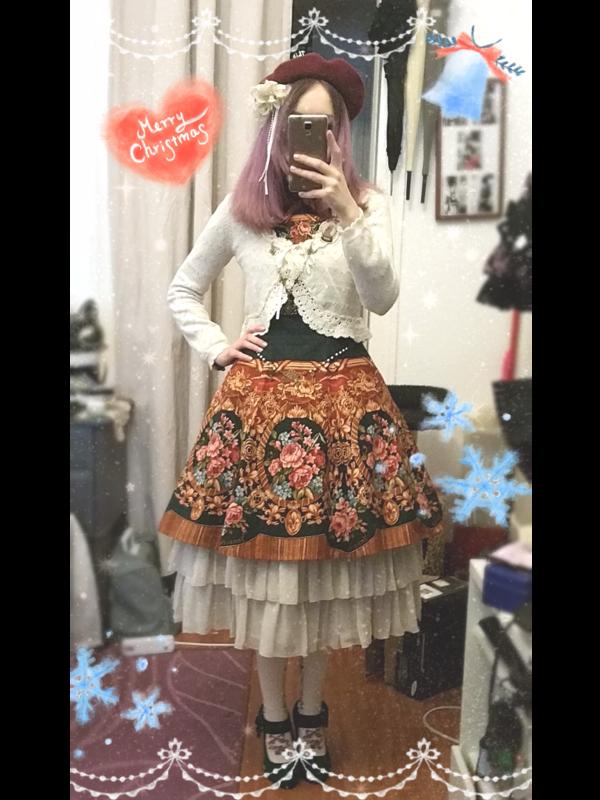 Kia Roseの「Classic Lolita」をテーマにしたコーディネート(2017/12/27)