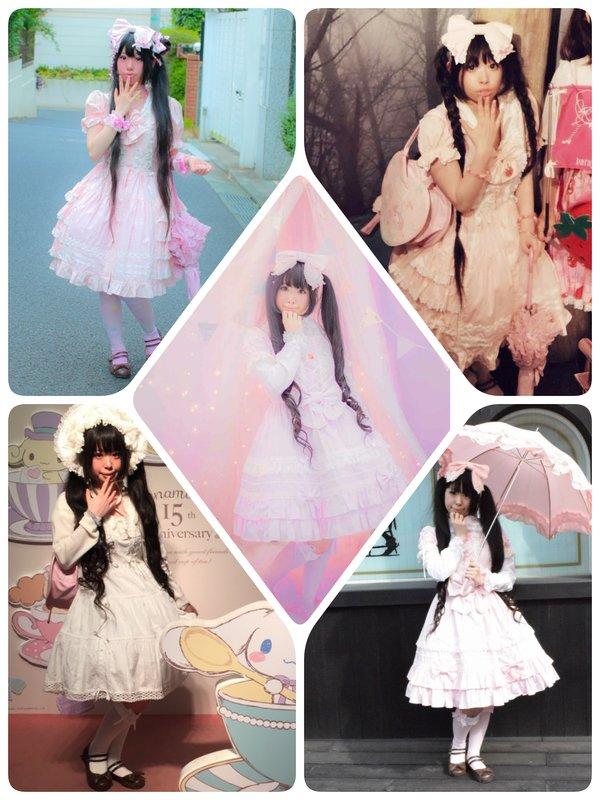 モヨコの「Angelic pretty」をテーマにしたコーディネート(2017/12/31)