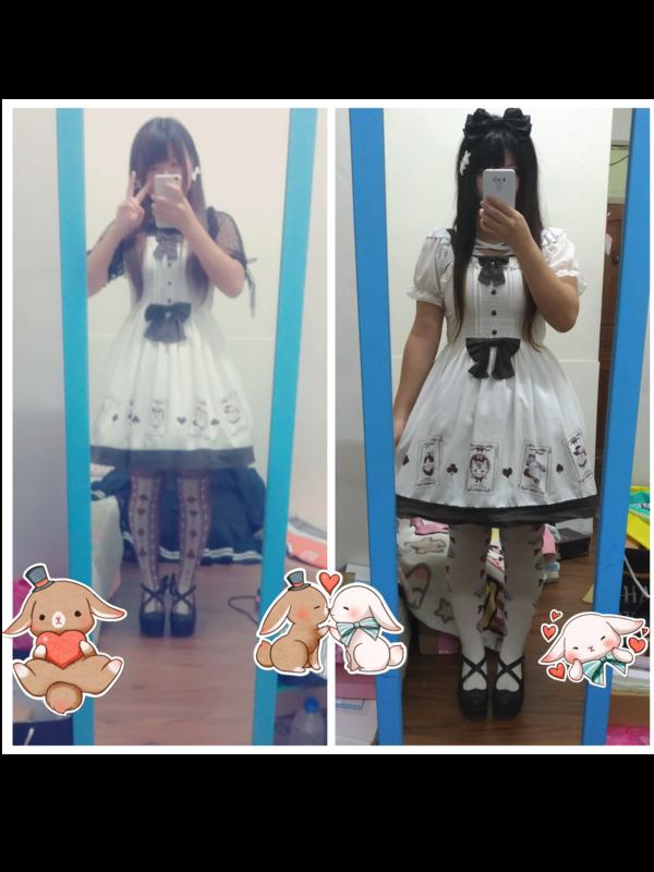 🎀`★糖果喵❤️'s 「Lolita fashion」themed photo (2017/12/31)