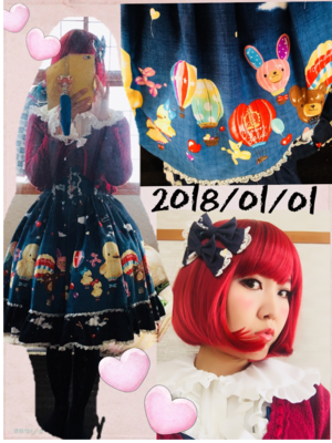 望月まりも☆ハニエル's 「this-year's-first-coordinate」themed photo (2018/01/01)