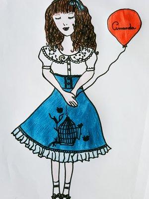 Amandaの「Lolita」をテーマにしたコーディネート(2018/01/03)
