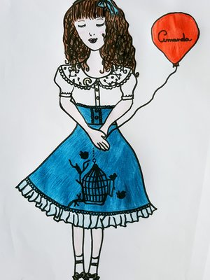 Amanda's 「Lolita」themed photo (2018/01/03)