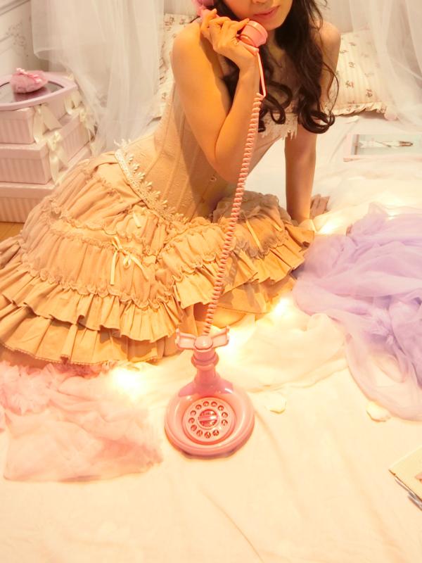 蜜蜂の「Classic Lolita」をテーマにしたコーディネート(2018/01/03)